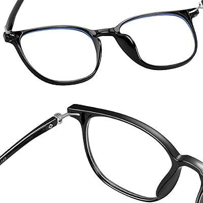 blue light blocking glasses women men-FEIDU computer fake glasses HD clear lens glasses3030
