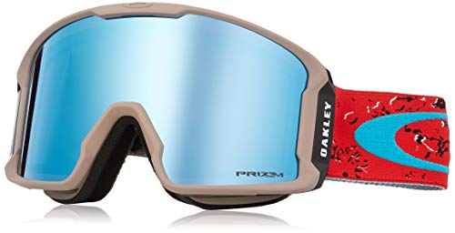 Oakley Line Miner Snow Goggle, Arctic Fracture Red Sea, Large ()