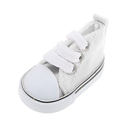 MonkeyJack 1/6 BJD Accessories Lace Up Bind Canvas Shoes Fit Blythe Dollfie LUTS -