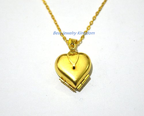 Folding Heart Locket..that opens into a clover, can hold 4 photos,Heart Clover Locket Necklace, Four-Fold locket Necklace best gift Pendant Necklace,Simple Necklace, Everyday Jewelry,charm necklace