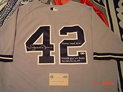 best website 80675 fa6e6 New York Yankees Mariano Rivera Signed & Inscribed Game Used ...