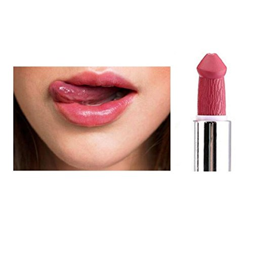 Hot Sales Lipstick,Elevin(TM)2017 Women Lady Fashion Popular Lipstick Mushroom Vampire Kiss Lipgloss (H)