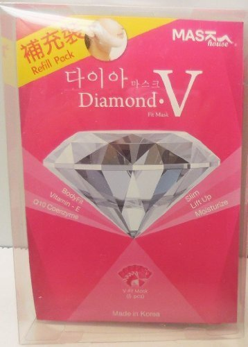 Mask House Diamond V Fit mask (5 pc) by Korea Mask House