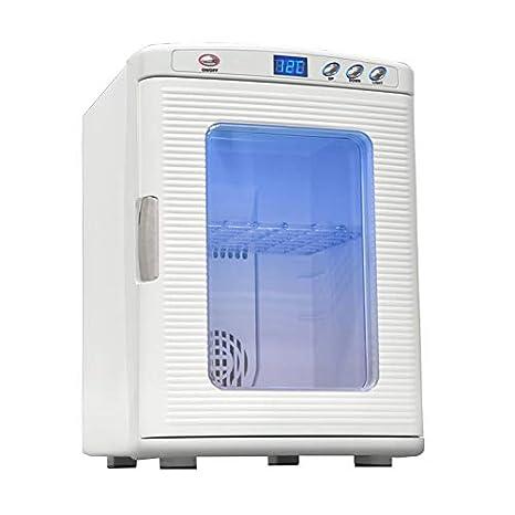 Wisess Refrigerador y Calentador eléctrico Compacto Personal AC/DC ...