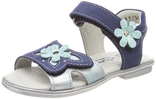 Däumling Mädchen Ria Offene Sandalen Blau (Turino Jeans)