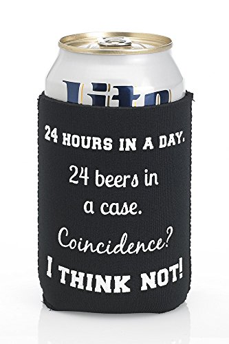 Beer Cozy Coincidence Stocking Stuffers