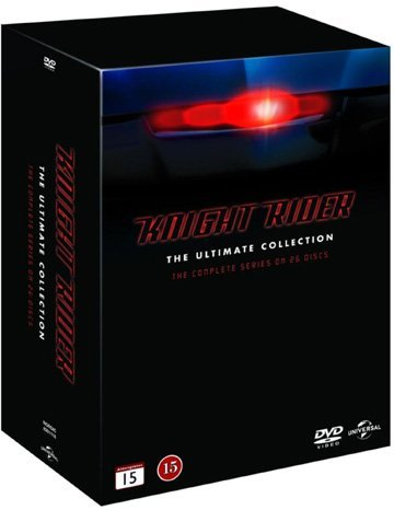 Knight Rider (Complete Series) - Utlimate Collection 26-DVD Box Set ( Knight Rider - Ultimate Collection (Seasons 1-4) ) [ NON-USA FORMAT, PAL, Reg.2 Import - Sweden ] (Complete Night Rider Series)