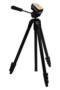 SLIK Video Sprint II Tripod, Black (617-520)