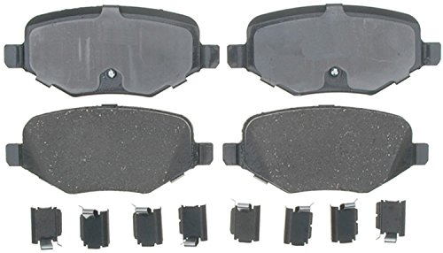 ACDelco 17D1377CH Professional Ceramic Rear Disc Brake Pad - Ford Brake Disc Taurus