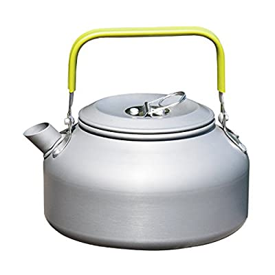 OuterEQ 0.8L Outdoor Camping Hiking Kettle Coffee Pot Portable Teapot