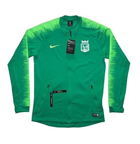 4e4349782f7 Men s Official 2018-2019 Atletico Nacional Anthem Jacket AH9767-398 Green