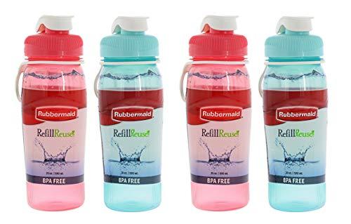 Best Rubbermaid Bottles - Rubbermaid Refill Reuse Chug Water Bottles,
