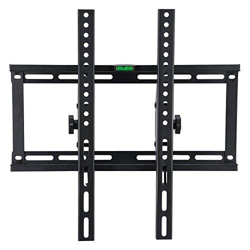 (Tilt TV Wall Mount Bracket for 32-55 inch LCD LED 3D Plasma OLED QLED TVs Super Strong 132lbs, Max VESA 400x400mm)