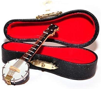 Melody Jane Dolls House Banjo Miniature Music Room Bar School Instrument