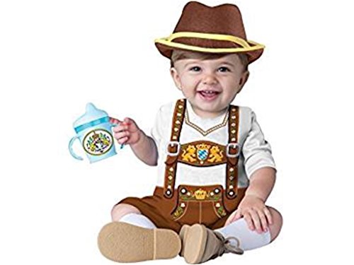 Infant Little Lederhosen Baby Bavarian Halloween Costume (Walmart Baby Costumes)