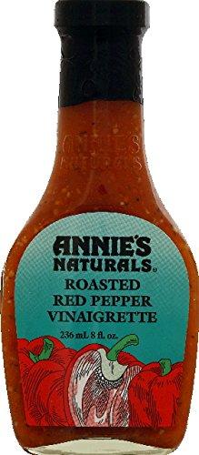 (Annie's Homegrown Roasted Red Pepper Vinaigrette, 8 oz, 2 pk)