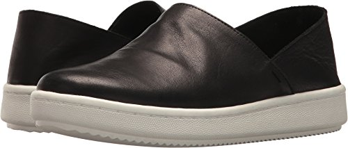 Eileen Fisher Mujeres Panda 2 Black Tumbled Leather