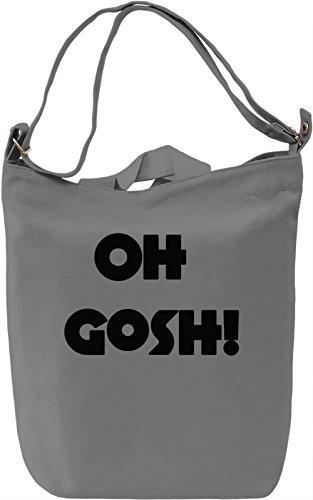 Oh Gosh Borsa Giornaliera Canvas Canvas Day Bag| 100% Premium Cotton Canvas| DTG Printing|