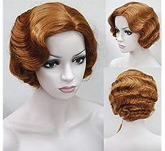 DER Peinados de Aleta de 1920 for Mujeres Pelucas de Onda de Dedo ...