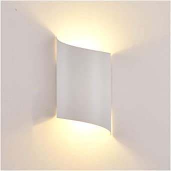 & apliques pared dormitorio Lámpara de pared, fuente de luz LED lámpara de pared, moderna simple dormitorio de noche Fondo de la pared de la personalidad escalera lámpara de pared lampara pared: