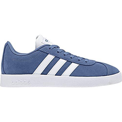 adidas VL Court 2.0 K, Zapatillas de Deporte Unisex Niños Azul (Azretr / Ftwbla / Gridos 000)