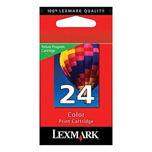 24 Color Print Cartridge - Lexmark #24 X3430/X3550/X4550/Z1420 Color Return Program Print Cartridge Practical Durable New