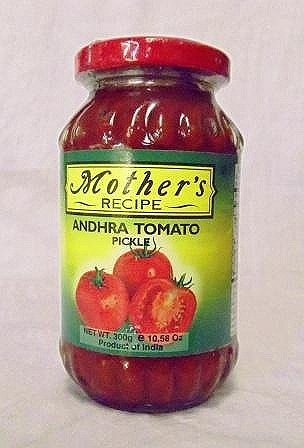MOTHER'S RECIPE ANDHRA TOMATO WITH GARLIC PICKLE 300G Tomato Pickles