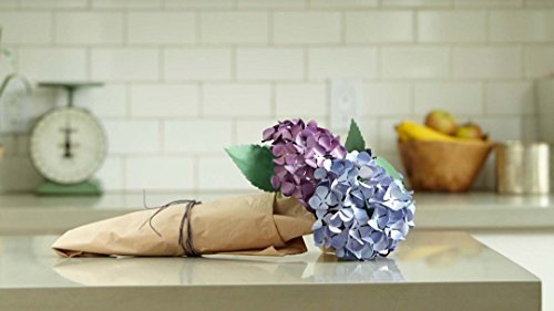 Cricut Paper Flowers: Make a Hydrangea ()