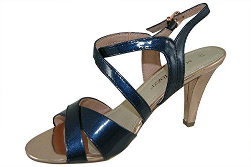 Tozzi de azul marino Auditor para Marco Sandalias Value mujer vestir Znn7B