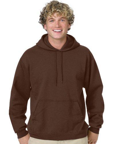 Hanes P170 ComfortBlend 50/50 Pullover Hood - Brown - 2XL