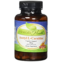 Acetyl L-Carnitine | 500mg | 100 Capsules | Cognitive Enhancer | Powerful Fat Burner