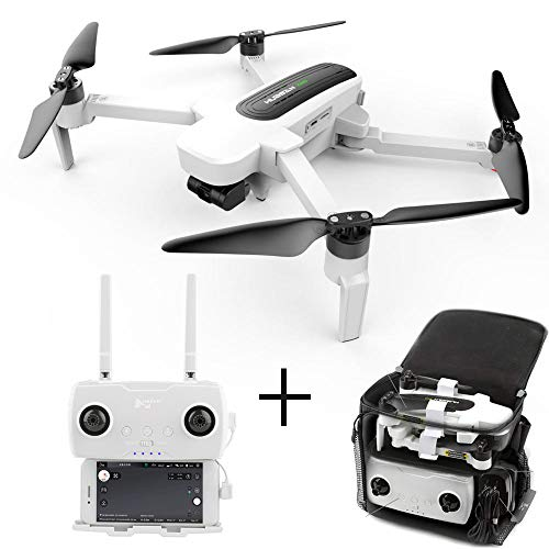 Teeggi H117S Zino GPS Drone with 1KM WiFi FPV UHD 4K Camera 3-Axis Gimbal Aerial Photography Brushless Foldable RC Quadcopter(with Drone Bag) (1Battery-1BAG)