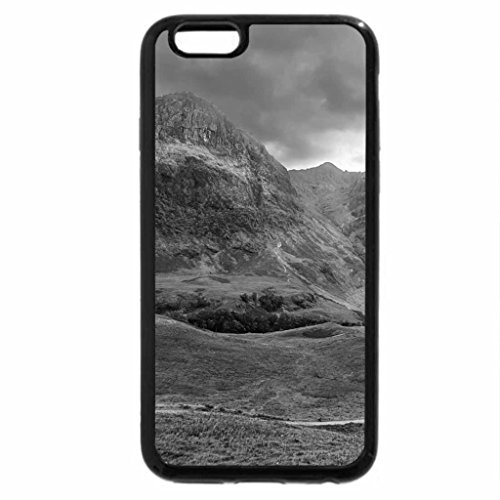 iPhone 6S Case, iPhone 6 Case (Black & White) - valley road
