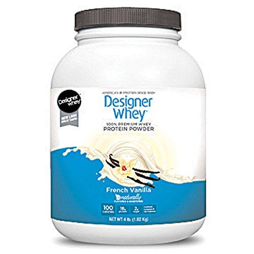 Designer Whey Protein Powder French Vanilla - 4 lbs