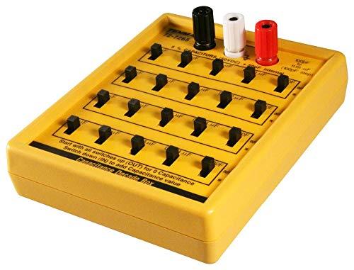 TENMA 72-7265 CAPACITOR DECADE BOX 100PF-11.111MF 50V