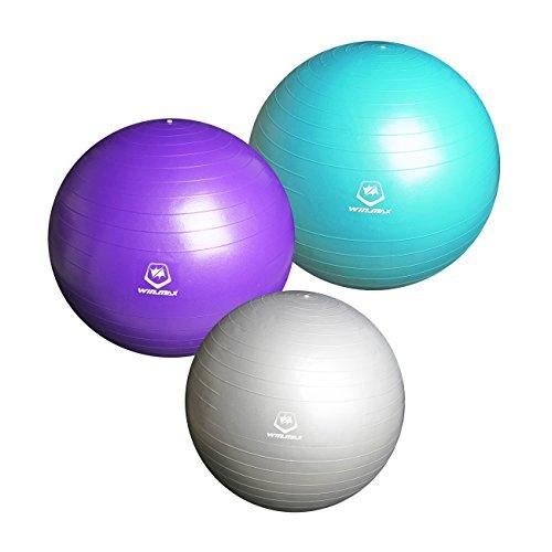 WINMAX Gymnastikball Robuster Sitzball Massageball Für Yoga und Fitness Zum Faszien-Training 75cm