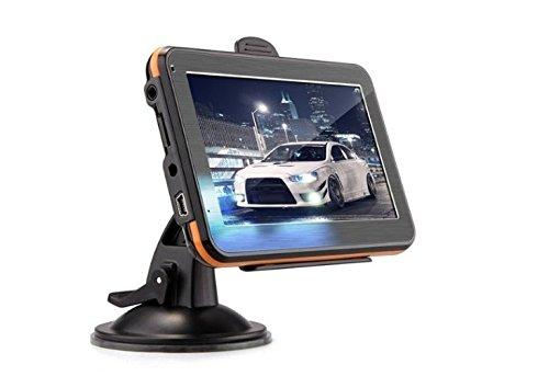Price comparison product image 5'' Car Truck GPS Navigation Trip Sat Nav 8GB UK EU AU USA Canada Maps MP4 Player FM