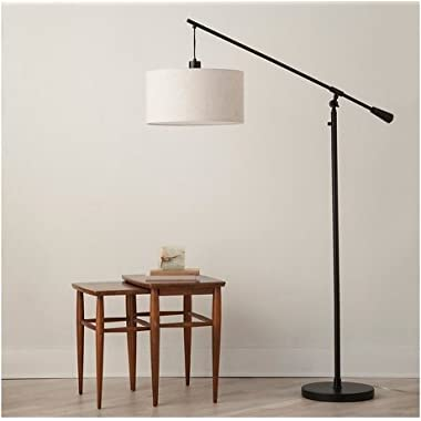 Adjustable Drop Pendant Floor Lamp - Ebony