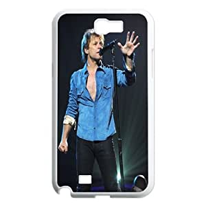 JenneySt Phone CasePopular Music Band - Bon Jovi For Samsung Galaxy Note 2 Case -CASE-18