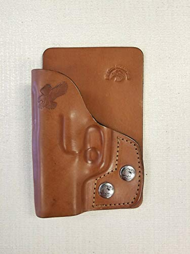 Braids Holsters Right Hand Brown Leather Wallet & Pocket Holster Choose Gun (for Gun Model Diamond Back Db9)