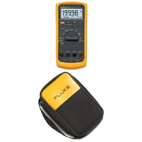 Fluke 87-V Digital Multimeter with Polyester Soft Carrying Case