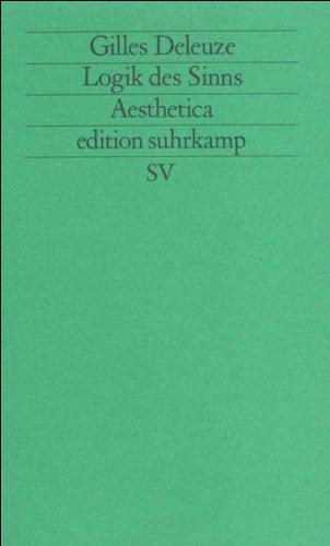 Logik des Sinns (edition suhrkamp)