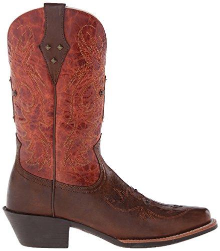 ... Ariat Kvinner Legende Ånd Western Cowboy Boot Tre / Rust