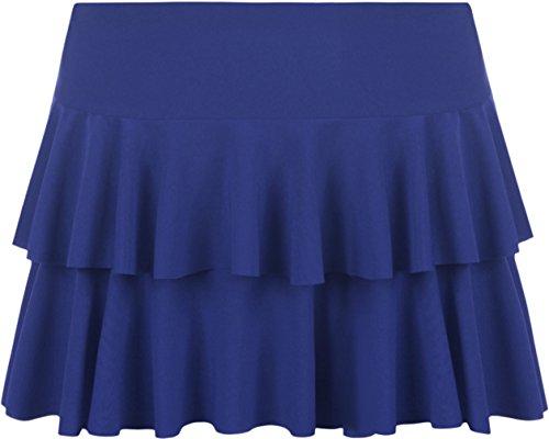 42 jupe Mini Bleu Tailles ruche royal Jupes WearAll 36 Femmes 50wT15x