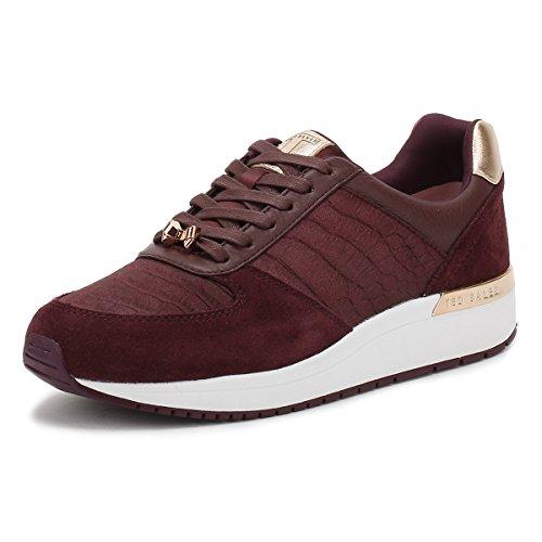 Ted Baker Damen Violett Kapaar Sneakers