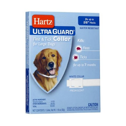 Dog Supplies Ultraguard Flea and Tick Large Dog Collar 26 - White (Pack of 48)