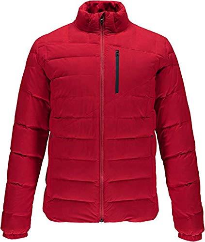 Men's Jacket Dolomite Black Down Red Zip Spyder Full 8HXWdXq