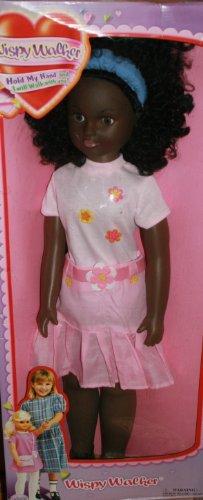 Wispy Walker Uneeda doll Life My Size Girl walking (Black Hair)