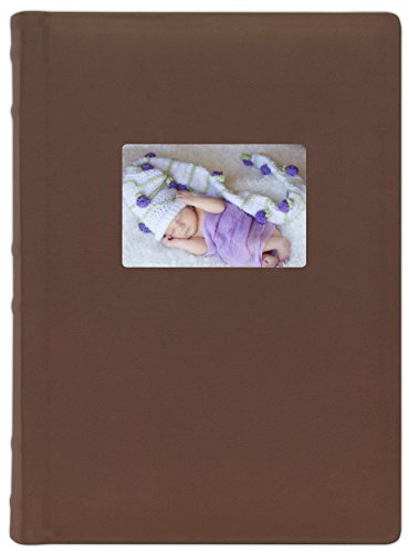 Old Town Bonded Leather Photo Album, 2 Pack (Brown)