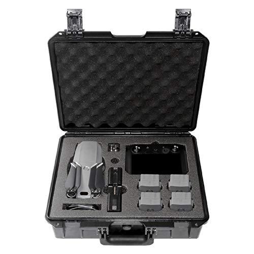Koozam DJI Mavic 2 Waterproof Hard Case, with Smart Controller, for Mavic 2 Pro and Zoom Drones, Waterproof and Shockproof (for Mavic 2 with Smart Controller)